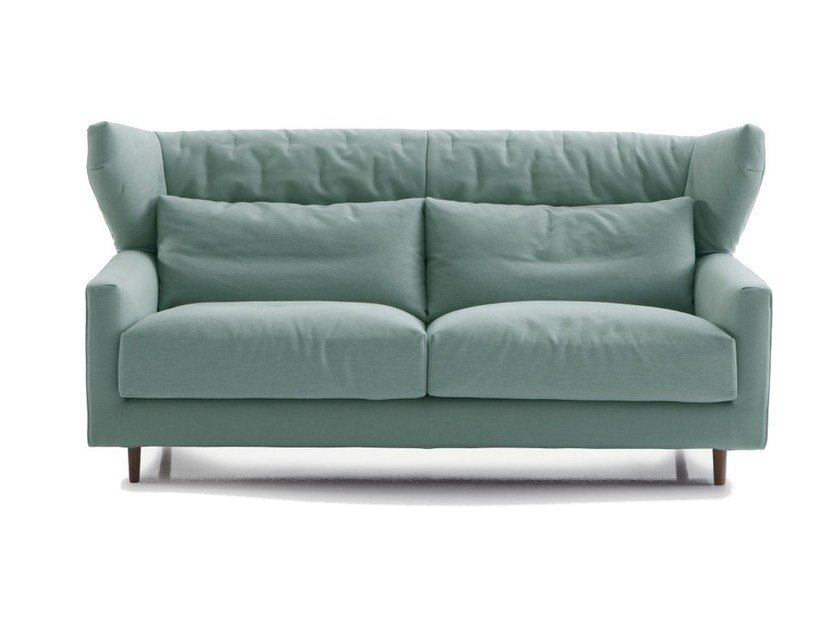 Fabric sofa with headrest FOLK | Sofa with headrest - SANCAL