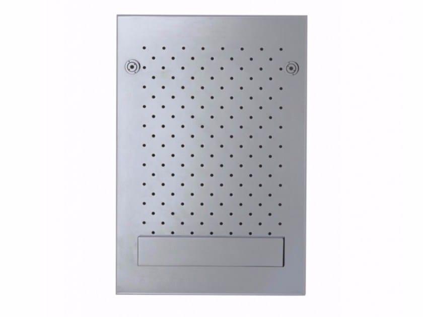LED ceiling mounted brass overhead shower SOFFIONI DOCCIA MULTIFUNZIONE | Overhead shower by tender rain