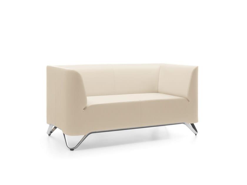 2 seater fabric sofa SOFTBOX 21 by profim