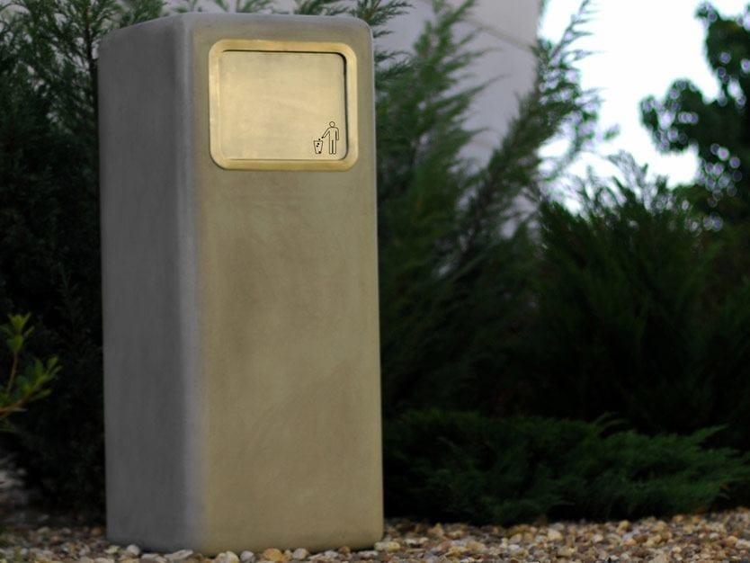 Outdoor waste bin SOFTSHAPES | Waste bin - SIT