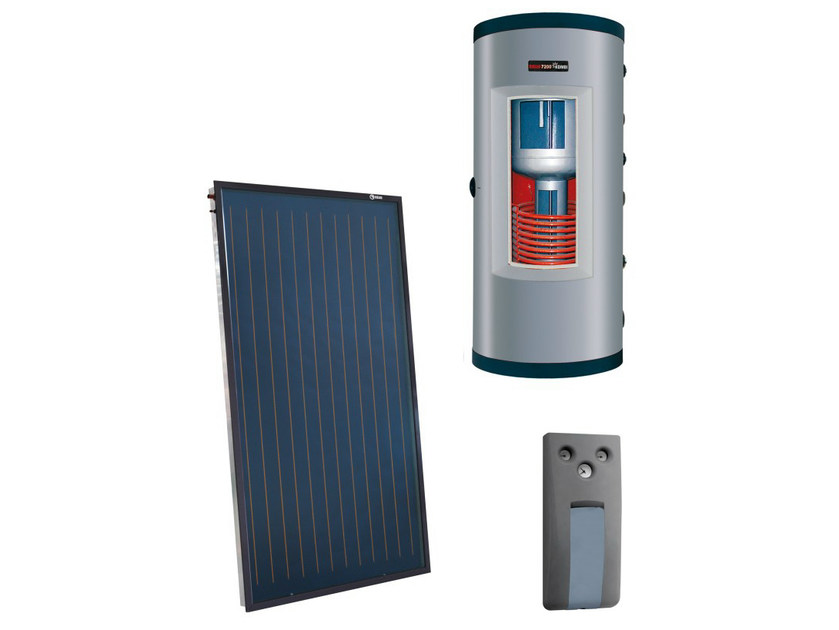 Forced circulation Solar heating system KOMBI PLUS - RIELLO