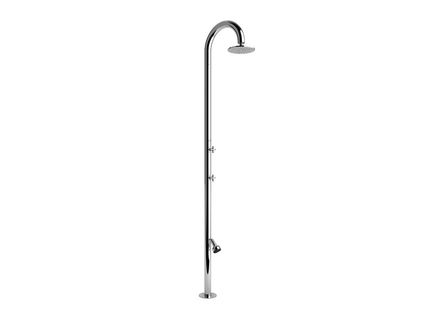 Stainless steel outdoor shower SOLE 60 SL BEAUTY - Inoxstyle