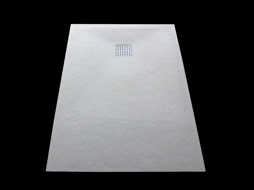 Rectangular Solid Surface® shower tray Solid Surface® shower tray - INBANI