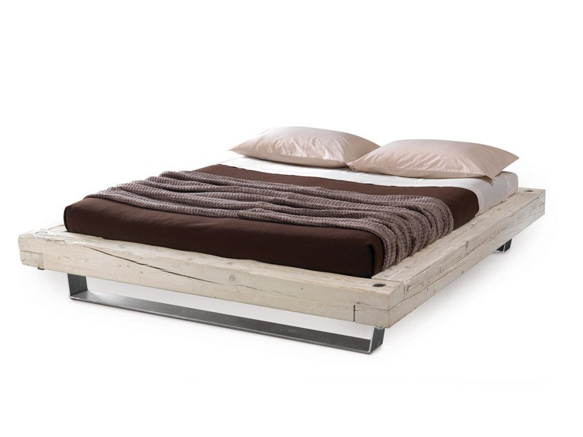 Wooden double bed SONNO | Bed - Oliver B.