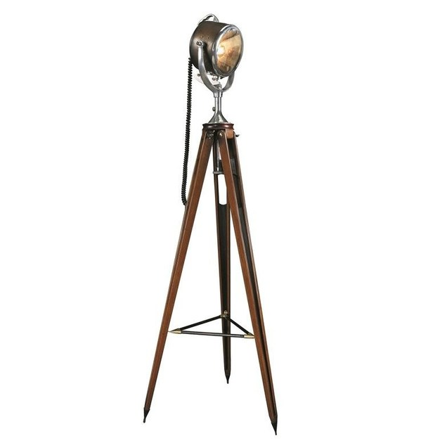 Adjustable floor lamp HALF MILE RAY - Caroti