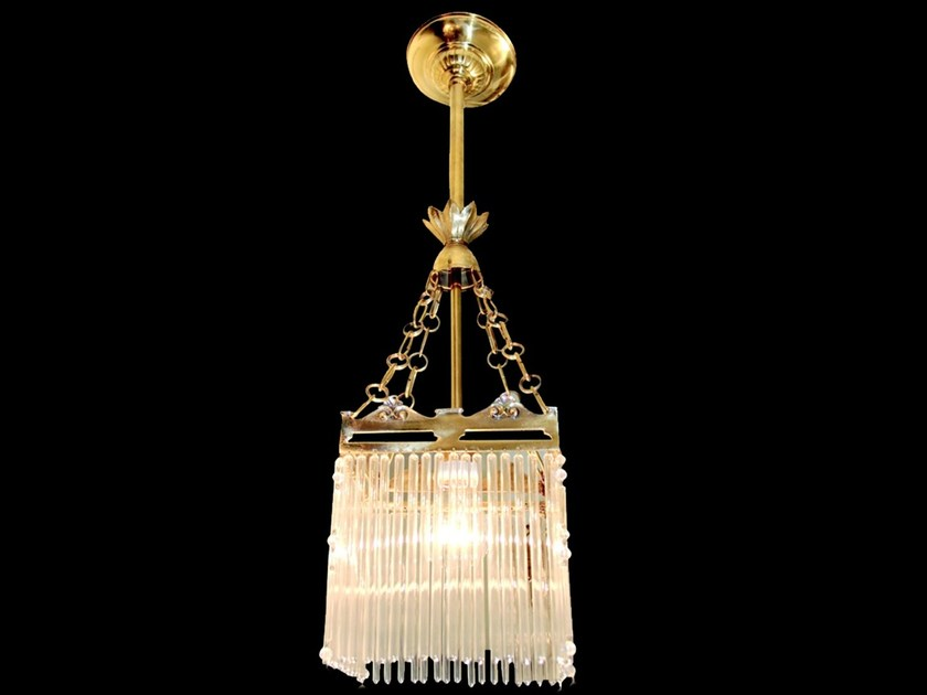 Direct light handmade brass pendant lamp SOPRON III | Pendant lamp - Patinas Lighting