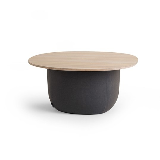 Round ash coffee table for living room SOUFFLÈ | Coffee table by Offecct