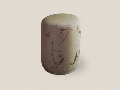 Upholstered polyester pouf SOUFFLÈ - Paolo Castelli