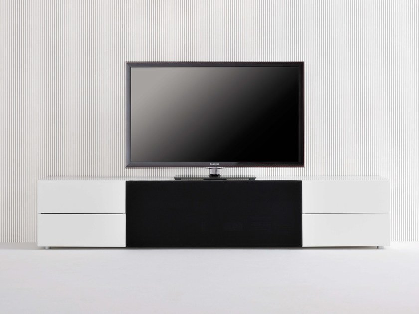 sound system tv m bel mit schubladen kollektion graphos by silenia. Black Bedroom Furniture Sets. Home Design Ideas