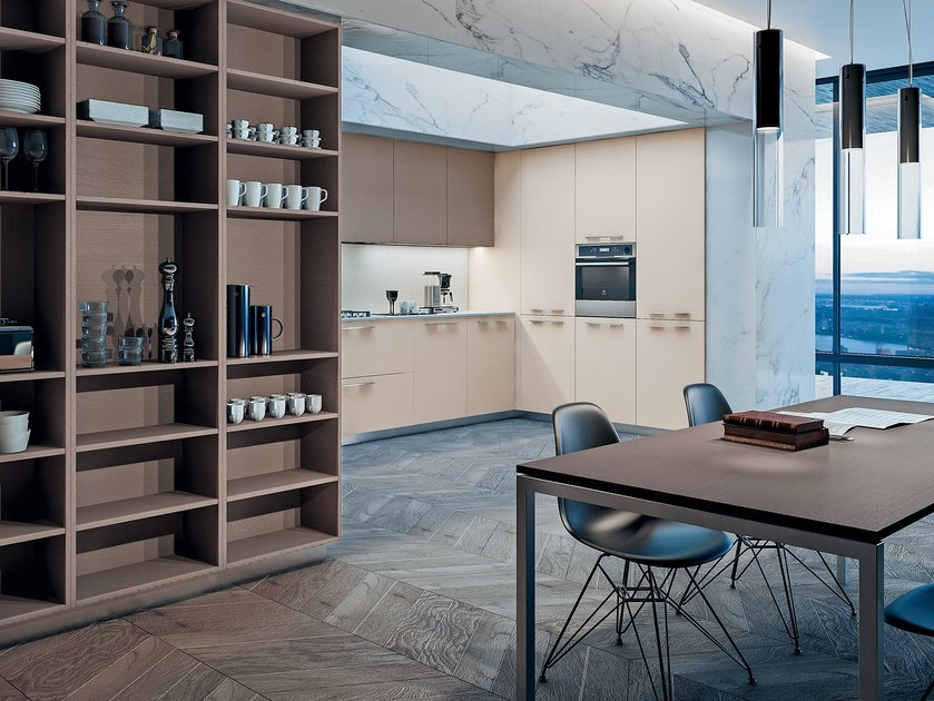 Lacquered laminate kitchen SPACE HANDLE by GD Arredamenti