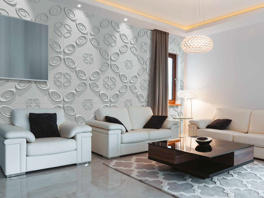 Bamboo fibre 3D Wall Cladding SPACE by RECORD - BAGATTINI