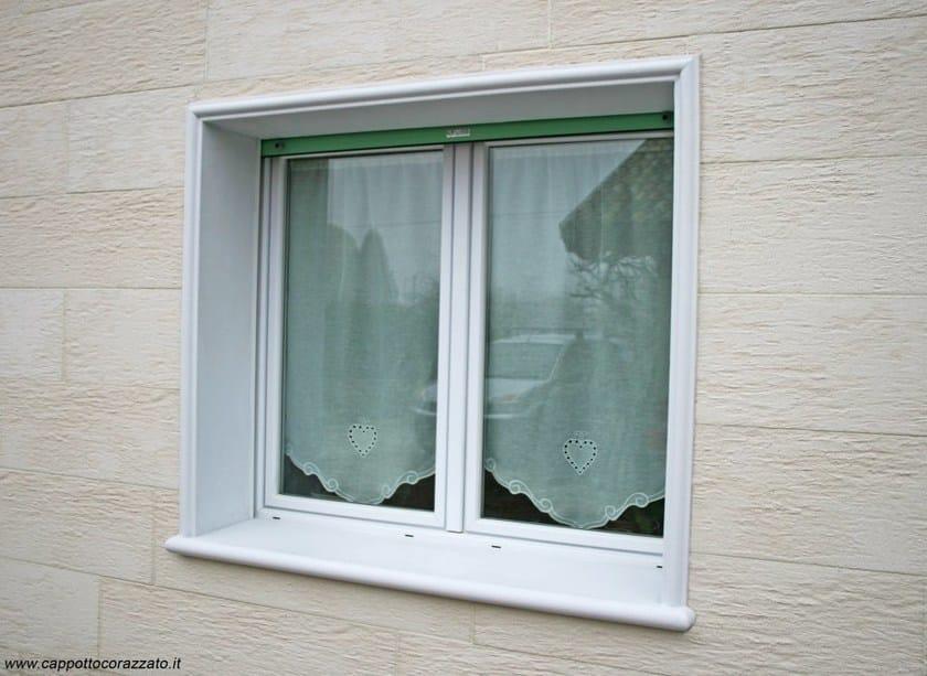 Spalletta contorno finestra per sistema a cappotto termico spalletta termica wall system - Isolare le finestre ...