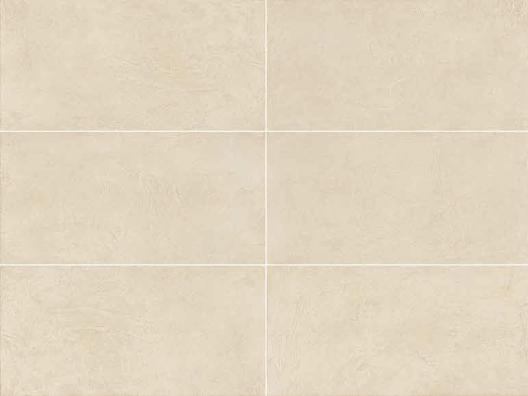Full-body porcelain stoneware wall/floor tiles with resin effect SPATULA Avorio - Italgraniti