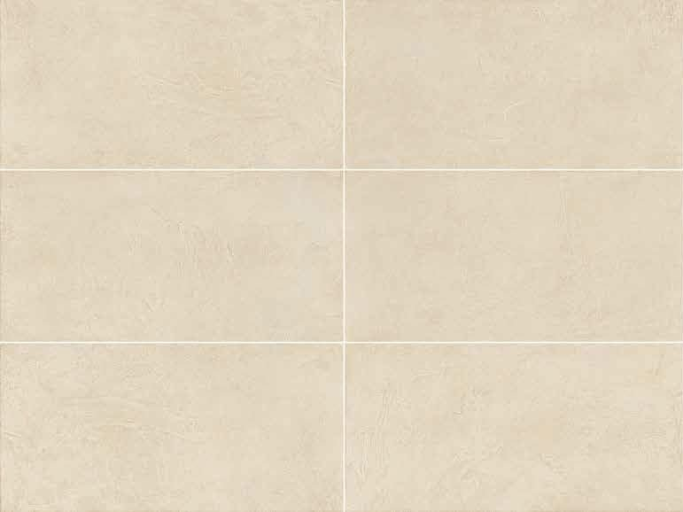 Full-body porcelain stoneware wall/floor tiles with resin effect SPATULA Avorio by Italgraniti