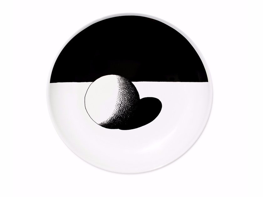 Ceramic dinner plate SPHERE - Kiasmo
