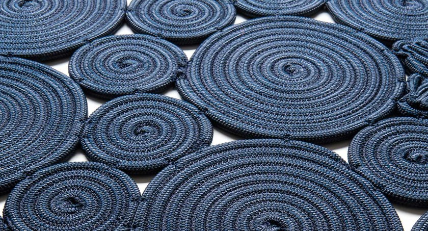 Tapis fait main rectangulaire SPIN OFF | Tapis rectangulaire by Paola Lenti