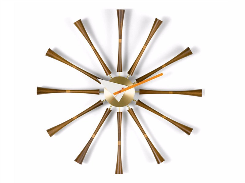 Wall-mounted clock SPINDLE CLOCK by Vitra