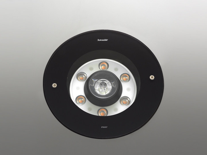 Round aluminium spotlight LOT | Spotlight by Artemide