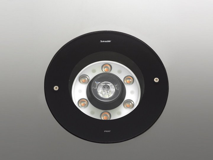 Round aluminium floor light LOT | Floor light - Artemide Italia