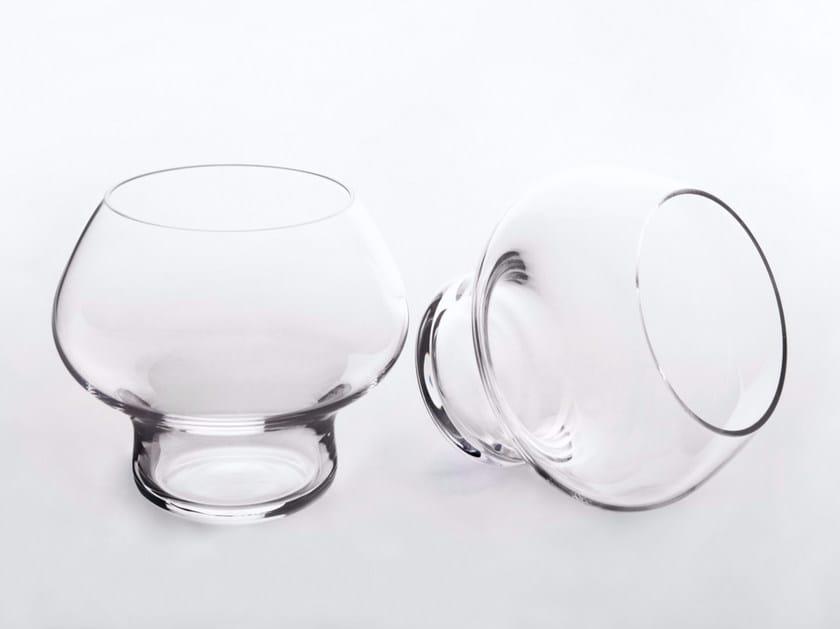 Bicchiere da liquore in vetro SPRING - Architectmade