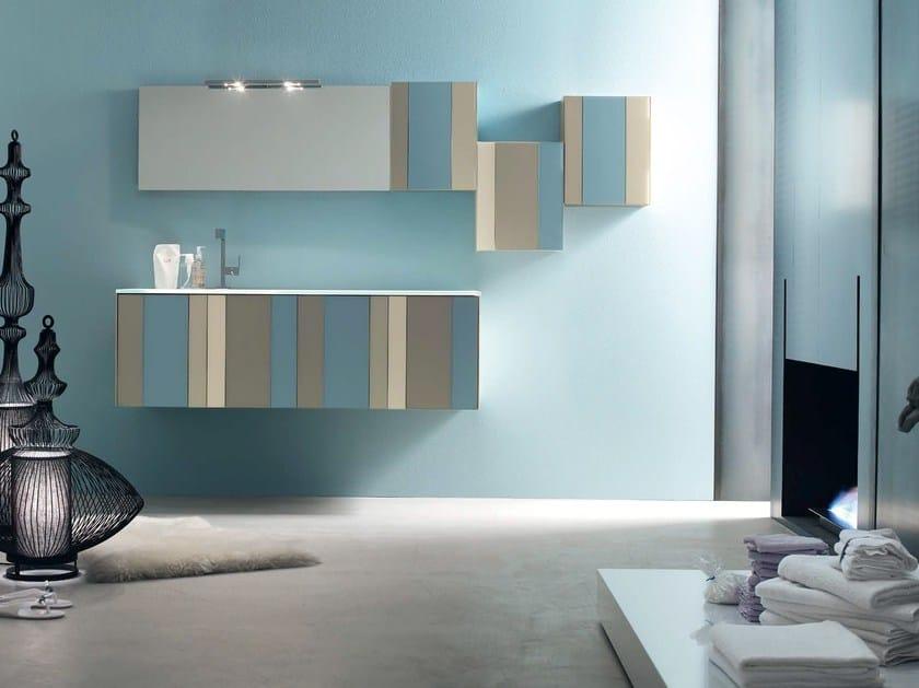 Sistema bagno componibile SPRING - COMPOSIZIONE 1 - Arcom