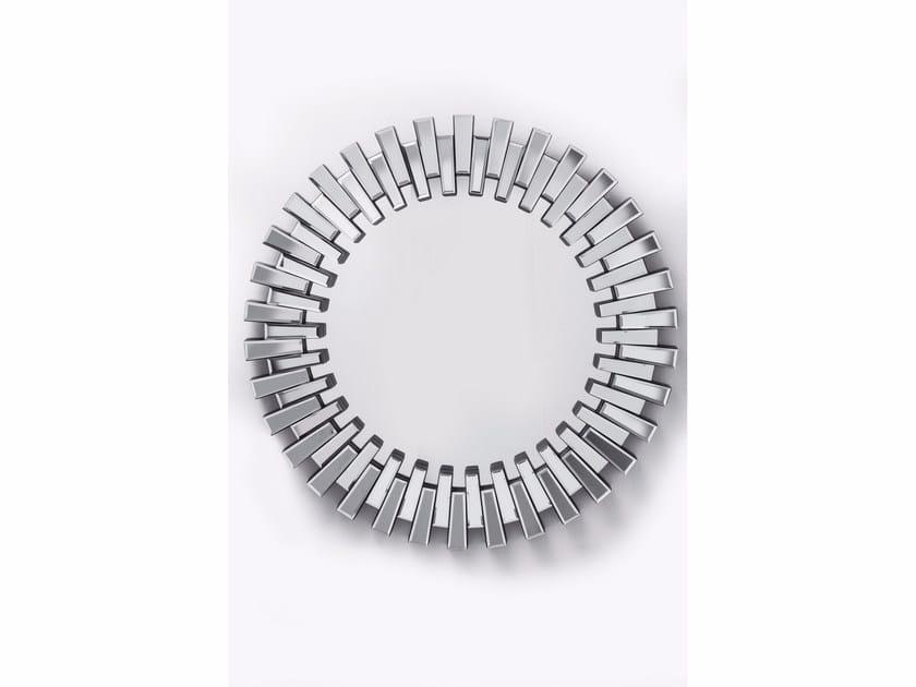 Round framed mirror SPROCKET - KARE-DESIGN
