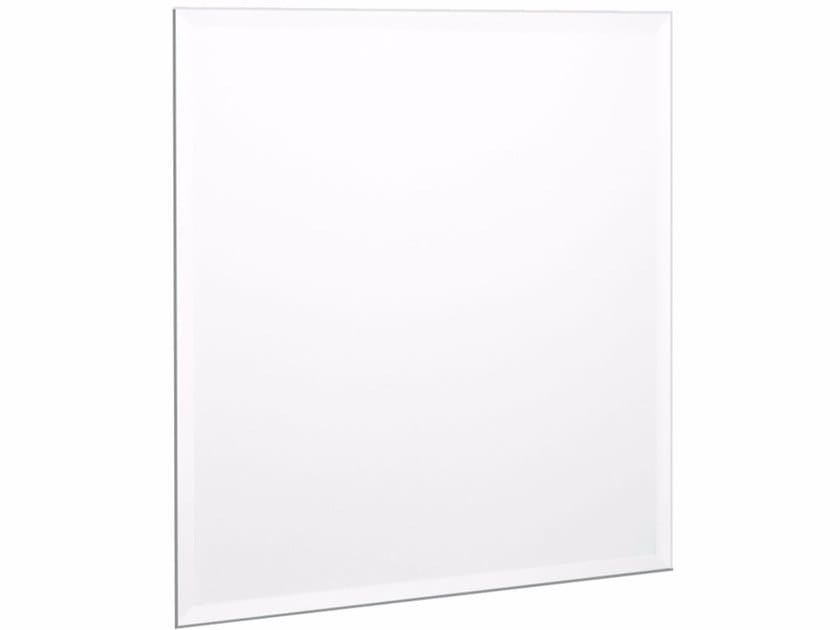 Square wall-mounted bathroom mirror SPUN24A | Mirror - Fir Italia