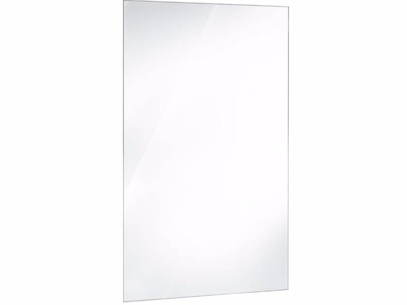 Rectangular wall-mounted bathroom mirror SPUN26A | Mirror - Fir Italia