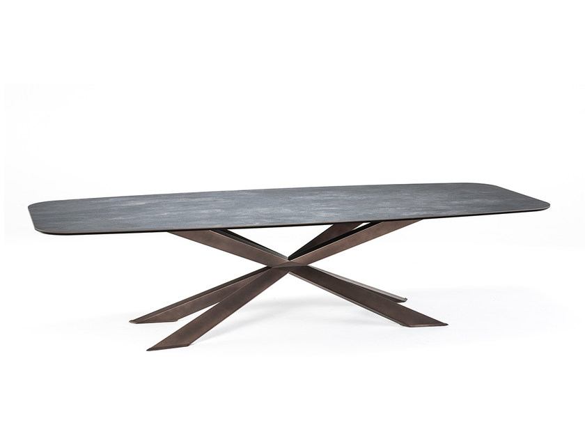Rectangular ceramic table SPYDER KERAMIK - Cattelan Italia