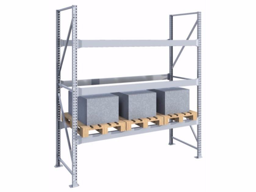 Galvanized steel shelveing system SPZ271030.10 - Castellani.it
