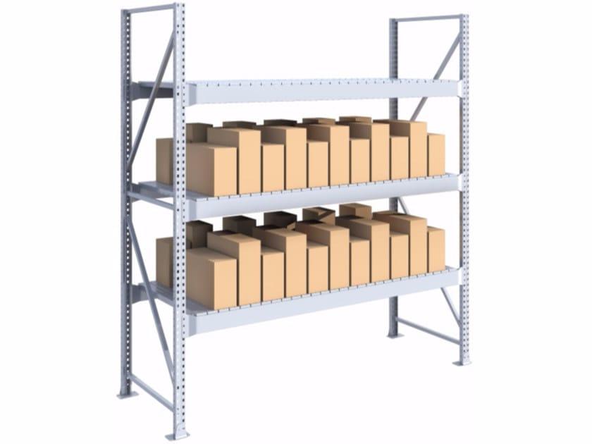 Galvanized iron shelveing system SPZD271030.12 by Castellani.it