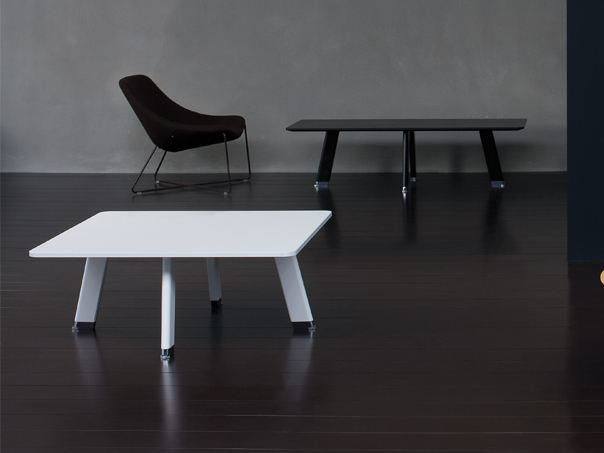 Tavolino basso quadrato SIMPLIC | Tavolino quadrato - BALMA