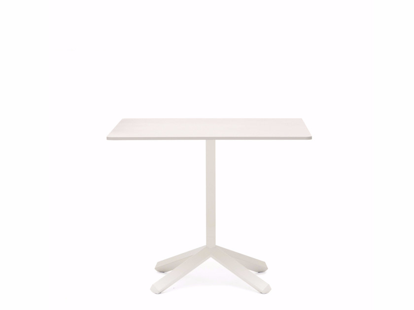 Square MDF coffee table FLAMINGO | Square coffee table by Emmegi