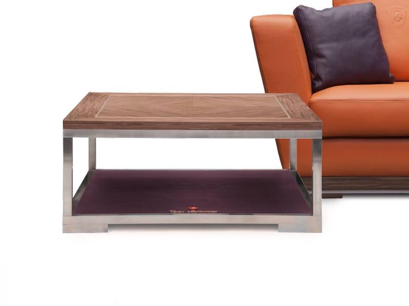 Tavolino basso quadrato ESTORIL | Tavolino quadrato - Tonino Lamborghini Casa