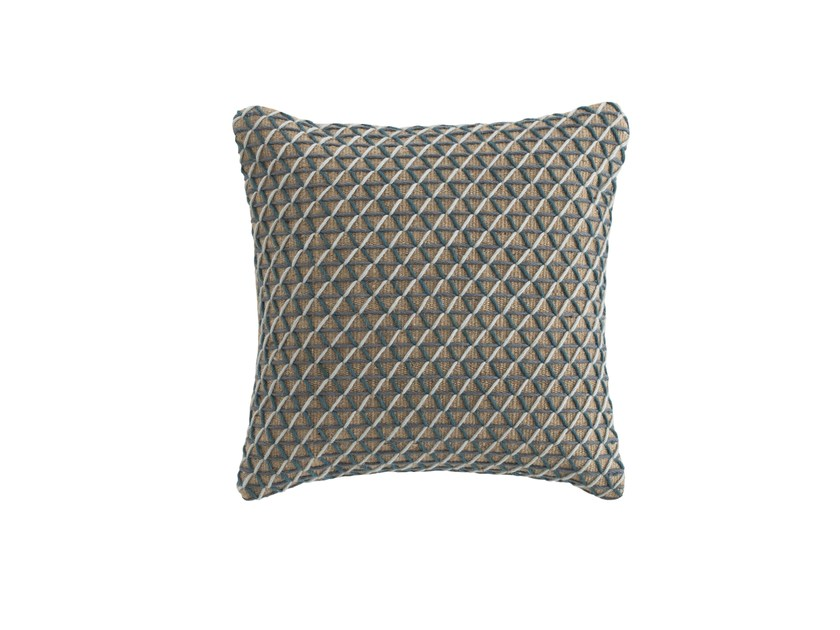 Square jute cushion RAW | Square cushion - GAN By Gandia Blasco