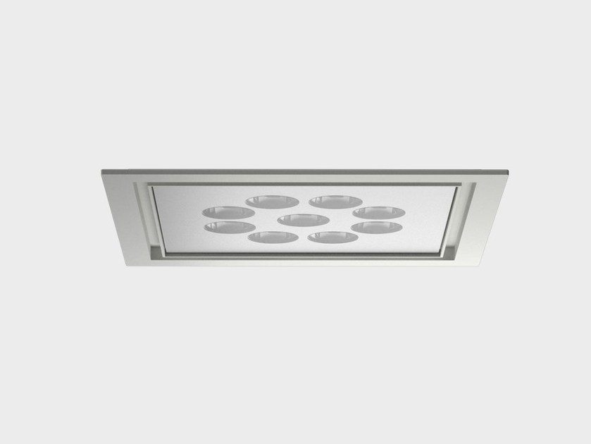 Faretto per esterno SQUARE LED INCASSO SOFFITTO by Cariboni group
