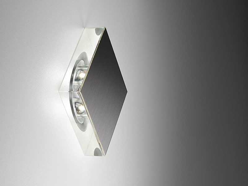 LED foot- and walkover light Square by PURALUCE