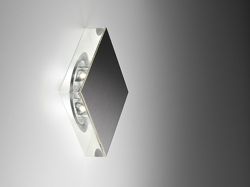 LED foot- and walkover light Square - PURALUCE