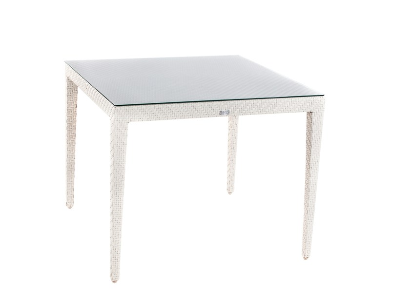 Square dining table ARLINGTON | Square table by 7OCEANS DESIGNS