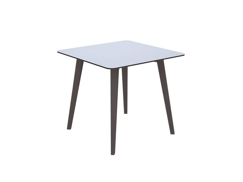 Square table COVE | Square table - Quadrifoglio Sistemi d'Arredo