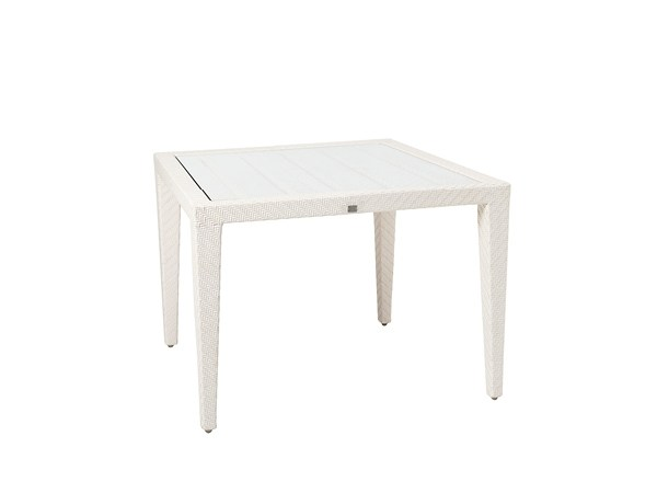 Square garden table PANAMERA | Square table by 7OCEANS DESIGNS