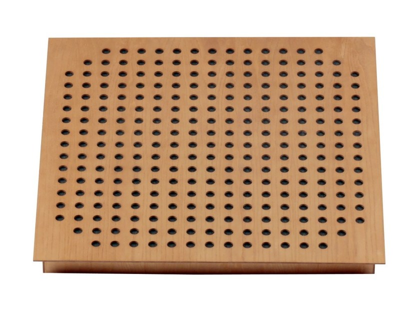 MDF decorative acoustical panels SQUARE TILE 60.4 - Vicoustic by Exhibo