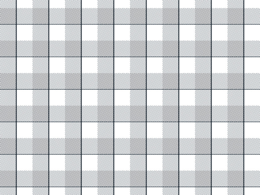 Check non-woven paper wallpaper SQUARES #03 - EXTRATAPETE