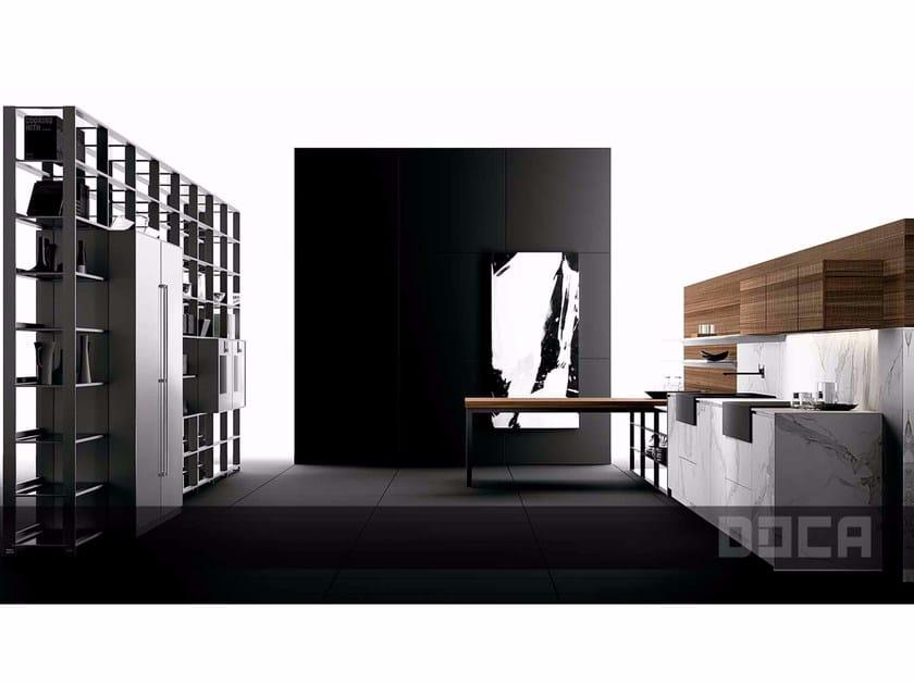 Fitted kitchen SR NOGAL 5N / LUXURY STONE ARTEMIS - Doca