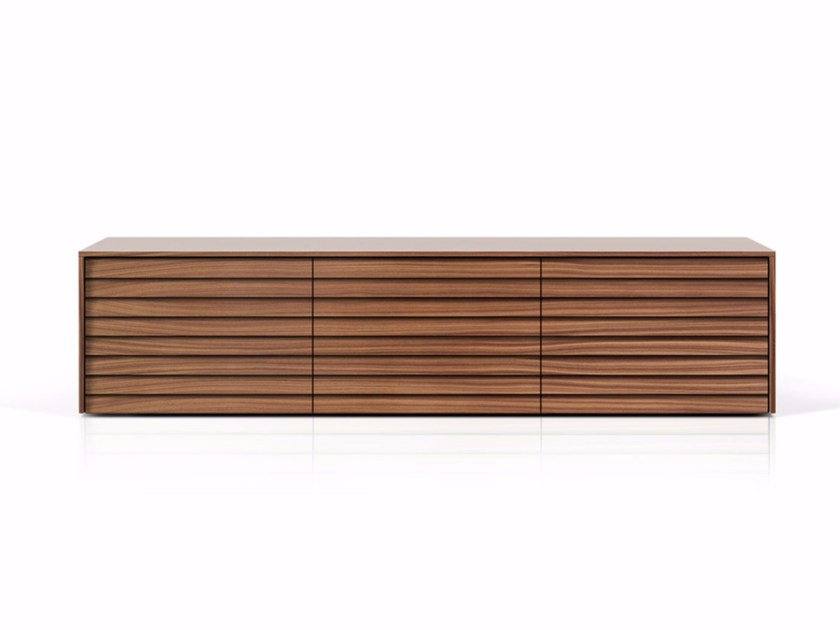 Suspended wooden sideboard with drawers SSX302 | Sideboard with drawers - Punt