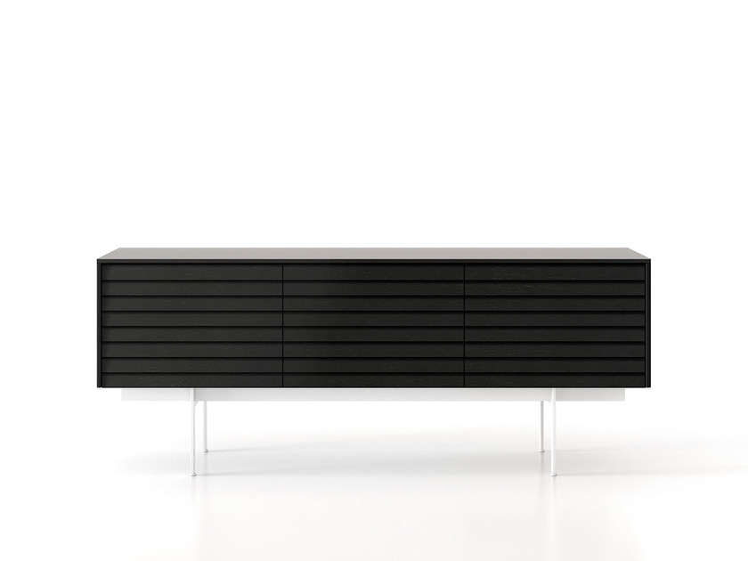 Wooden sideboard with doors SSX311 | Sideboard with doors by Punt
