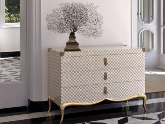 Lacquered wooden dresser ST127 | Dresser - Rozzoni Mobili d'Arte