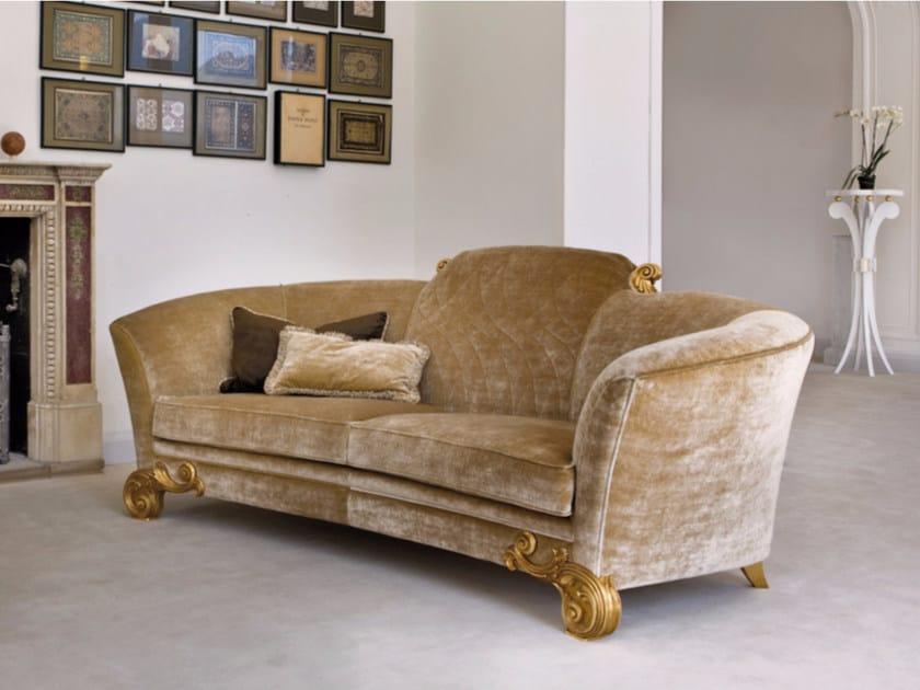 Upholstered velvet sofa ST130 | Sofa by Rozzoni