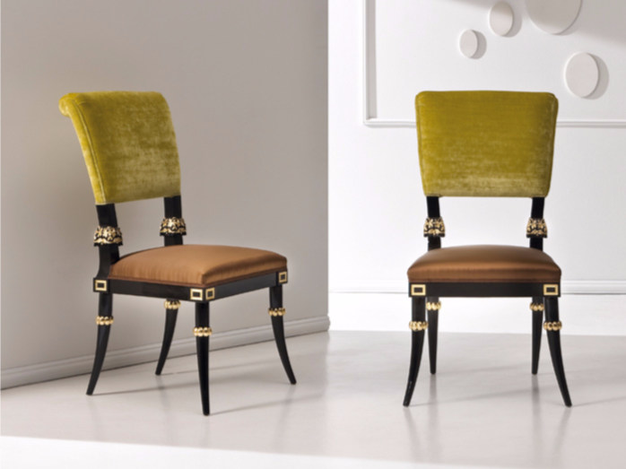 Upholstered fabric chair ST137 | Chair - Rozzoni Mobili d'Arte