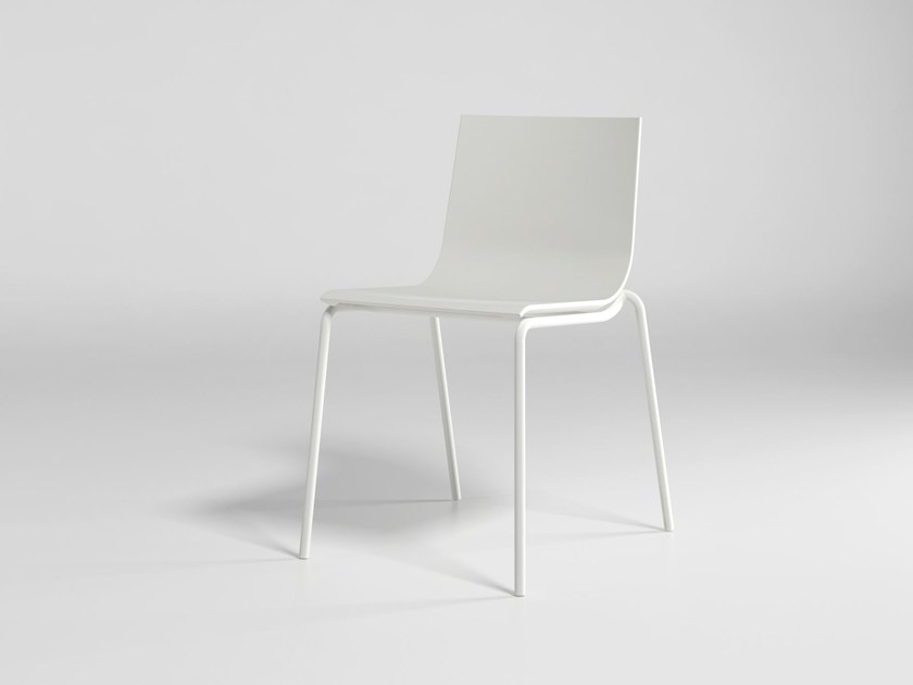 Stackable polyurethane garden chair STACK SYSTEM CHAIR 2 by GANDIA BLASCO